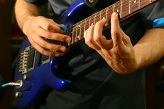 Guitar solo Stock Images