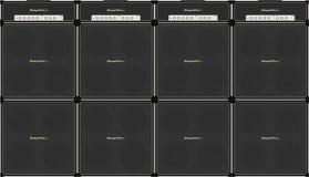Guitar stack Stock Image