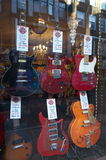 Guitar Store - London Stock Photography