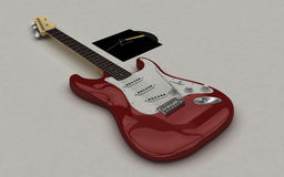 Guitar Stratocaster Stock Photography