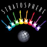 Guitar Stratosphere Royalty Free Stock Photo