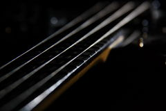 Guitar string Royalty Free Stock Photo