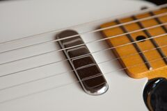 Guitar String Stock Photo