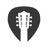 Guitar string instrument music icon. Vector graphic Stock Photo