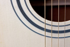 Guitar strings Stock Photography