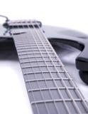 Guitar strings. Close up shot of a guitar Stock Photo