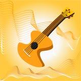 Guitar strings. Musical guitar strings Stock Photo