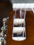 Guitar Strings Close Up Royalty Free Stock Photography