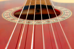 Guitar and strings Stock Photos