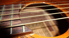 Guitar (strings) Royalty Free Stock Photo