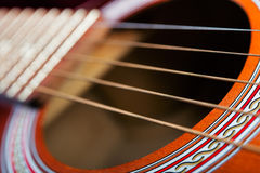 Guitar with 5 strings. Royalty Free Stock Photography