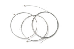 Guitar Strings. On white background stock images