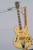 Guitar at Sun Records Studio, Memphis Royalty Free Stock Photo