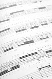 Guitar tabs Royalty Free Stock Image