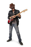 Guitar tapping Stock Image