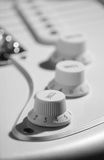 Guitar tone knob Royalty Free Stock Photos
