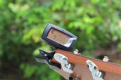 Guitar tuners Royalty Free Stock Images