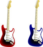 Guitar vector Stock Images