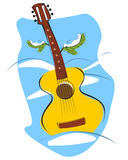 Guitar 01 Royalty Free Stock Photo