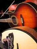 Guitar, viola and bouzouki Stock Image