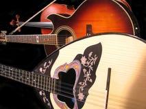 Guitar, viola and bouzouki Royalty Free Stock Photo