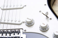 Guitar volume Royalty Free Stock Photo
