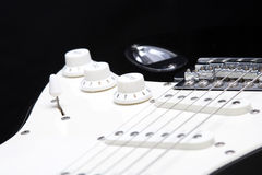 Guitar volume Royalty Free Stock Images