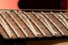 Guitar Z Inlays Royalty Free Stock Photos