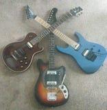 Guitarcross foto de archivo