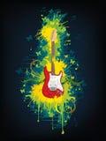 Guitare électrique Photos stock