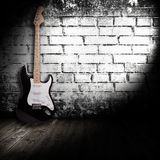 Guitare électrique Photographie stock