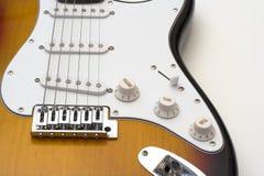 Guitare électrique. Photographie stock libre de droits