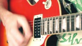 Guitare électrique banque de vidéos
