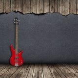 Guitare électrique dans la chambre Photos stock