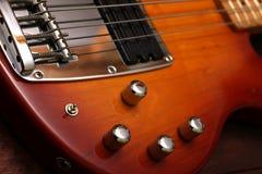 Guitare électrique - de ci-avant Image libre de droits