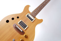 Guitare électrique de cru Photos stock