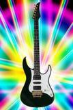 Guitare électrique de roche Photo stock
