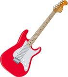 Guitare 01 Image libre de droits