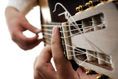 Guitare 12 Images libres de droits