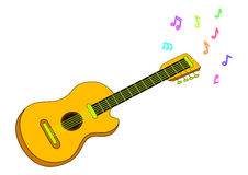 Guitare Illustration Stock