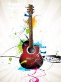 Guitare illustration stock