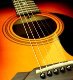 Guitare Photographie stock