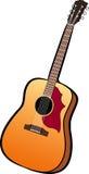 Guitare Illustration de Vecteur