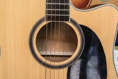 Guitare Fotografia Stock Libera da Diritti