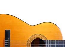 Guitare acoustique Photo libre de droits