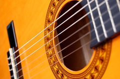 Guitare acoustique Images stock
