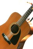 Guitare acoustique Photos libres de droits