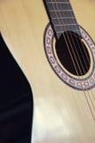 Guitare acoustique classique Photos libres de droits