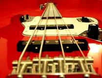 Guitare basse électrique Stockfotografie