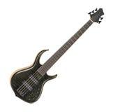 Guitare basse électrique Photographie stock libre de droits